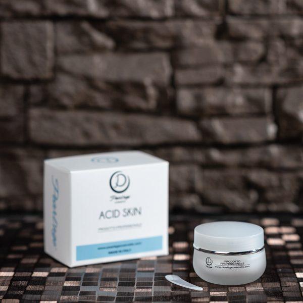 Acid Skin crema viso riequilibrante acido mandelico pelle grassa