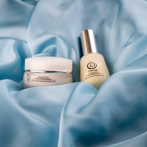 trattamento levigante crema e siero per pelle grassa